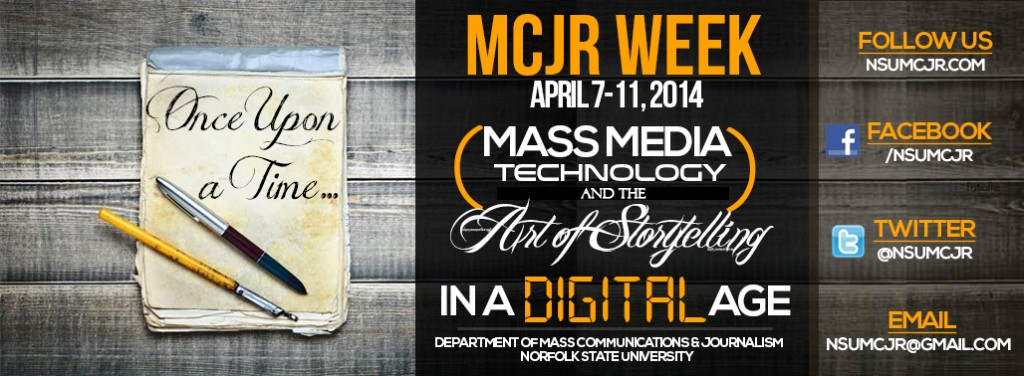 MCJR Week 2014 | Department of Mass Communications and Journalism | Norfolk State University